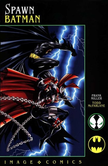 batman spawn comic book