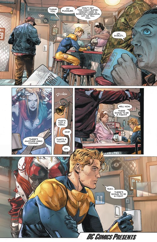 Heroes in Crisis #1 artist by Clay Mann and Tomeu Morey