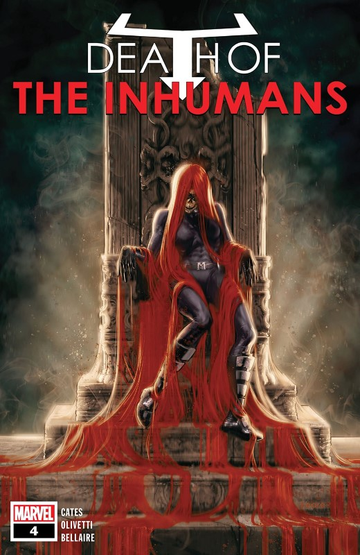 Death of the Inhumans #4 cover by Kaare Andrews