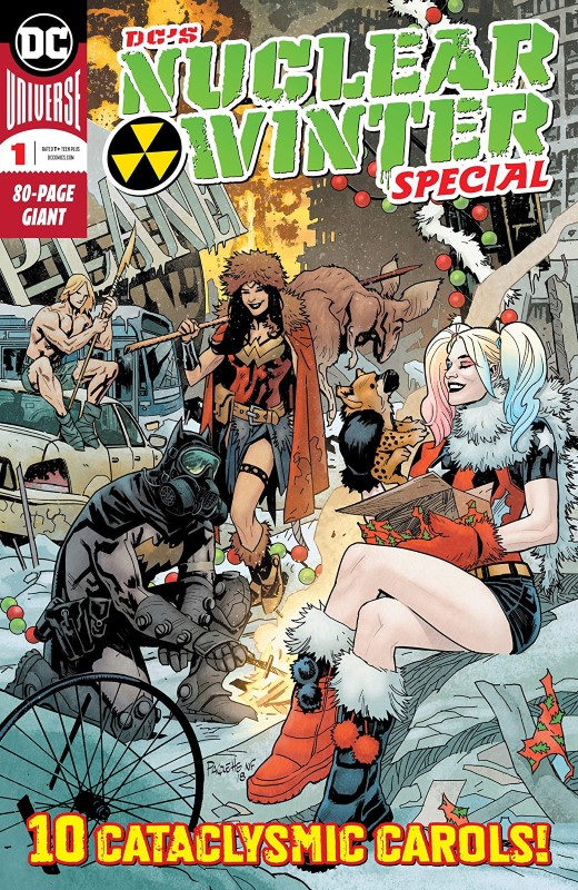 DC's Nuclear Winter Special #1 cover by Yannick Paquette and Nathan Fairbairn