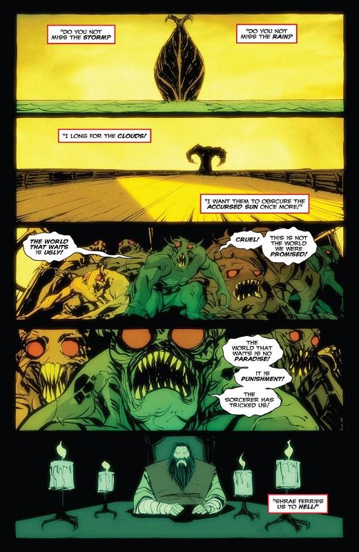 Dark Ark #11 art by Juan Doe and letterer Ryane Hill