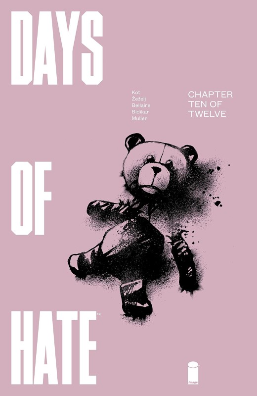 Days of Hate #10 cover by Danijel Zezelj