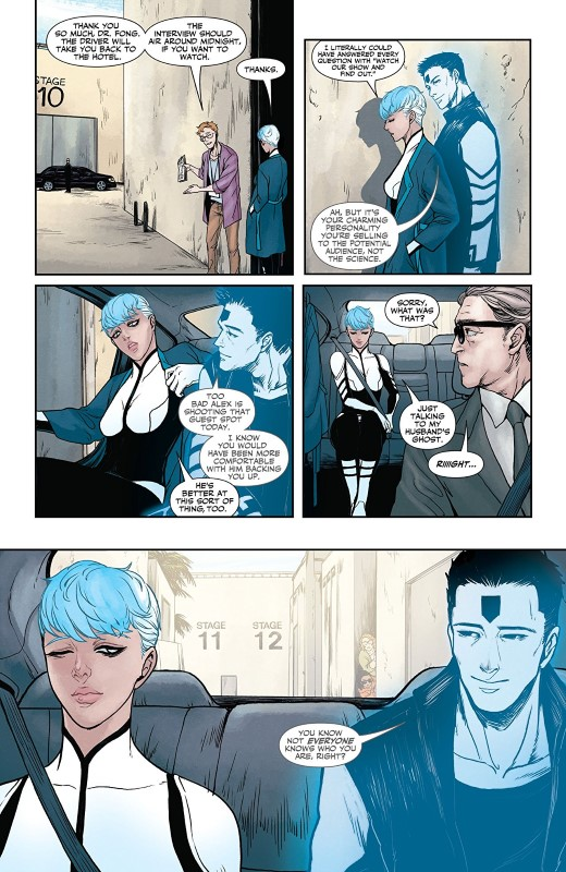 Faith Dreamside #2 art by MJ Kim, Jordie Bellaire, and letterer Dave Sharpe