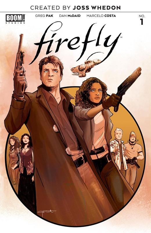 Firefly #1 cover by Lee Garbett
