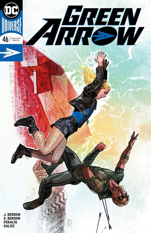 Green Arrow #46 cover by Alex Maleev