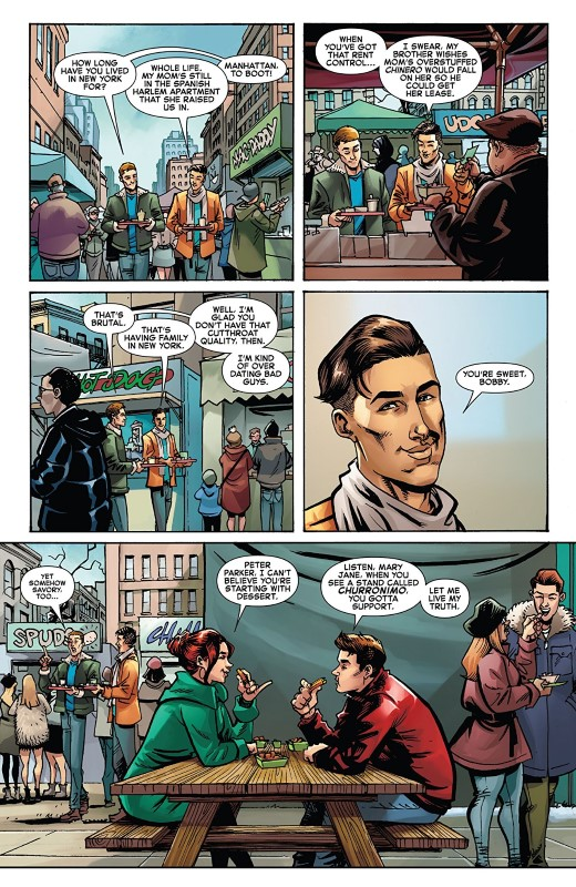 Iceman #3 art by Nathan Stockman, Federico Blee, and letterer VC's Joe Sabino