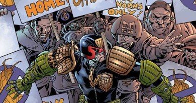 Judge Dredd: Toxic #2 cover by Mark Buckingham and Chris Blythe
