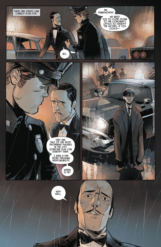 Batman Annual #3 art by Otto Schmidt and letterer Troy Peteri of A Larger World Studios