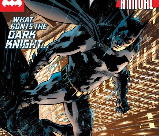 Batman Annual #3 cover by Bryan Hitch and Alex Sinclair
