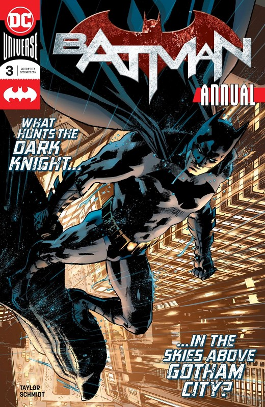 Batman Annual #3 cover by Bryan Hitch and Alex Sinclair