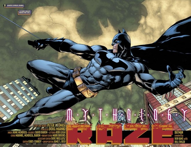 Batman: Detective Comics #994 art by Doug Mahnke, Jaime Mendoza, David Baron, and letterer Rob Leigh