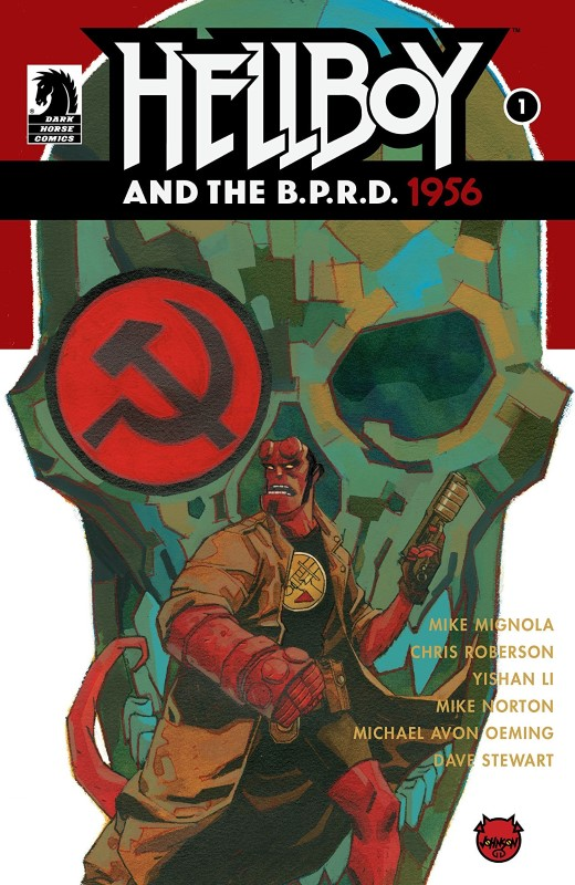 Hellboy and the B.P.R.D: 1956 #1 cover by Dave Johnson