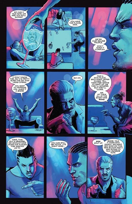 Killmonger #2 art by Juan and Eduardo Ferreyra and letterer VC's Joe Sabino