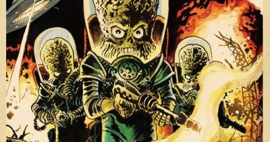 Mars Attacks! #3 cover by Francesco Francavilla