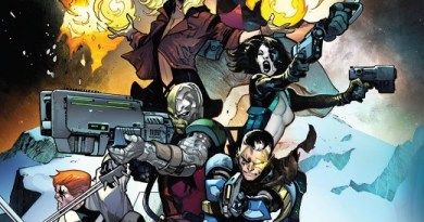 X-Force #1 cover by Pepe Larraz and David Curiel