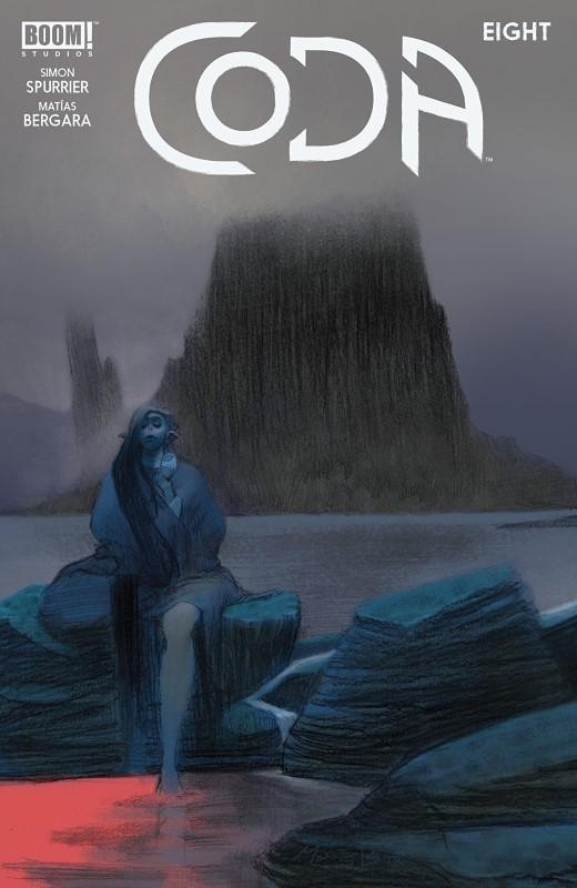 Coda #8 cover by Matias Bergara