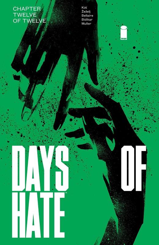 Days of Hate #12 cover by Danijel Zezelj