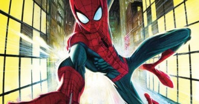 Friendly Neighborhood Spider-Man #1 cover by Andrew Robinson