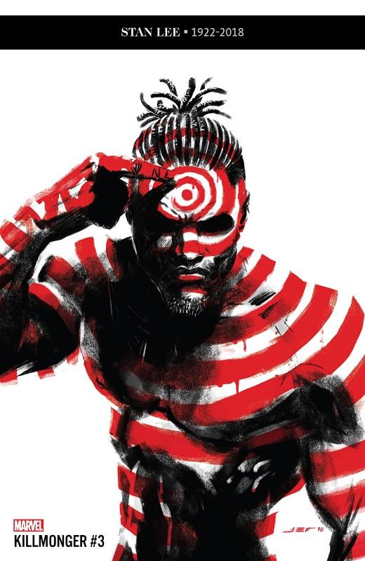 Killmonger #3 cover by Juan Ferreyra