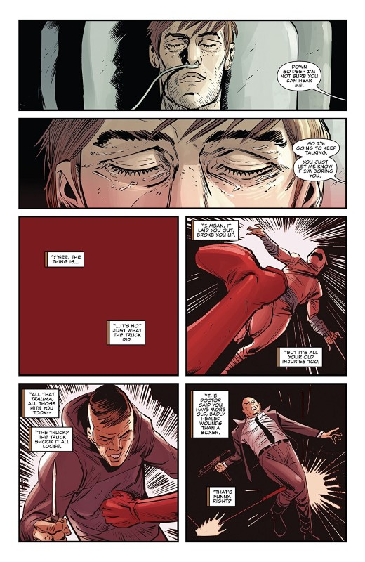 Man Without Fear #1 art by Danilo S. Beyruth, Andres Mossa, and letterer VC's Clayton Cowles