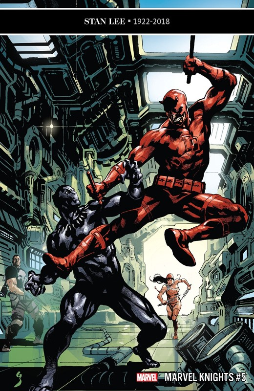 Marvel Knights 20th #5 cover by Geoff Shaw and Rain Beredo