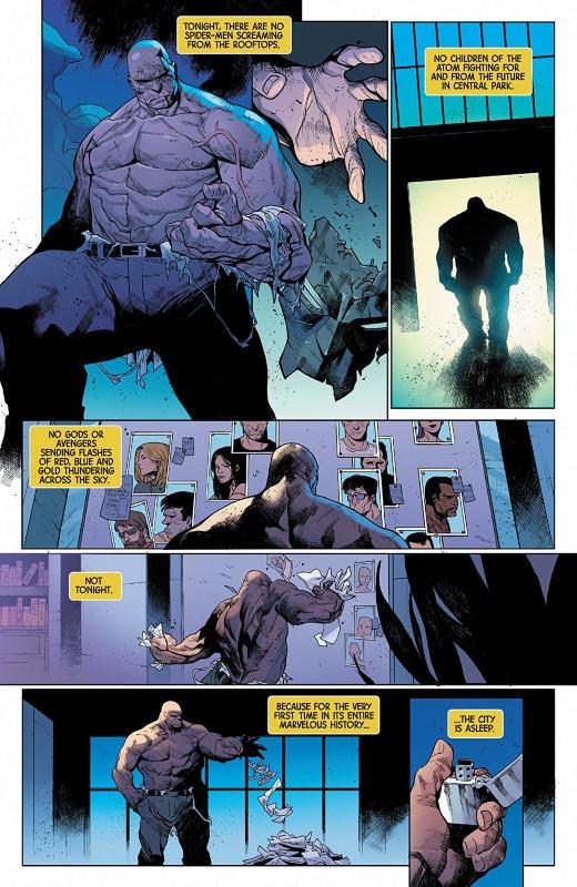 Marvel Knights 20th #6 art by Kim Jacinto, Matt Milla, and letterer VC's Cory Petit