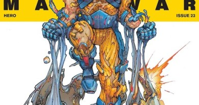 X-O Manowar #23 cover by Kenneth Rocafort