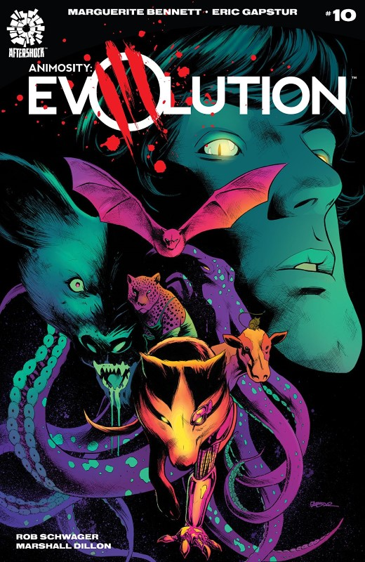 Animosity Evolution #10 cover by Eric Gapstur and Guy Major