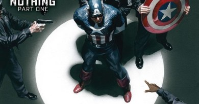 Captain America #7 cover by Alex Ross