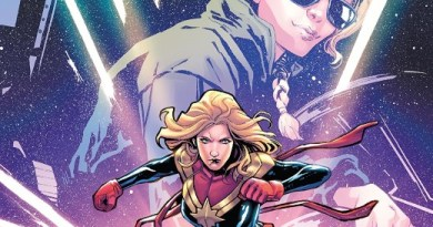 Captain Marvel: Braver and Mightier #1 cover by Valerio Schiti and Rachelle Rosenberg