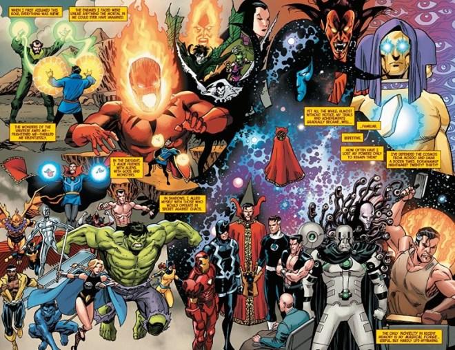 Doctor Strange #12 art by Barry Kitson, Scott Koblish, Brian Reber, and letterer VC's Cory Petit