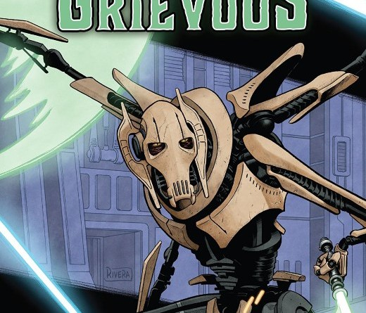 Star Wars Age of Republic: General Grievous #1 cover by Paolo Rivera