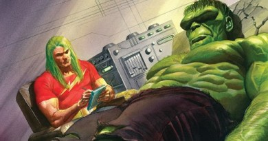 The Immortal Hulk #15 cover by Alex Ross