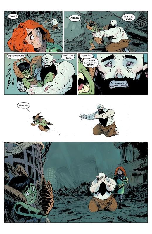 Rat Queens #15 art by Owen Gieni and letterer Ryan Ferrier