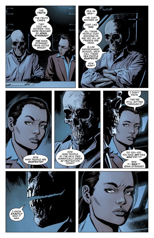Action Comics #1010 art by Steve Epting, Brad Anderson, and letterer Josh Reed