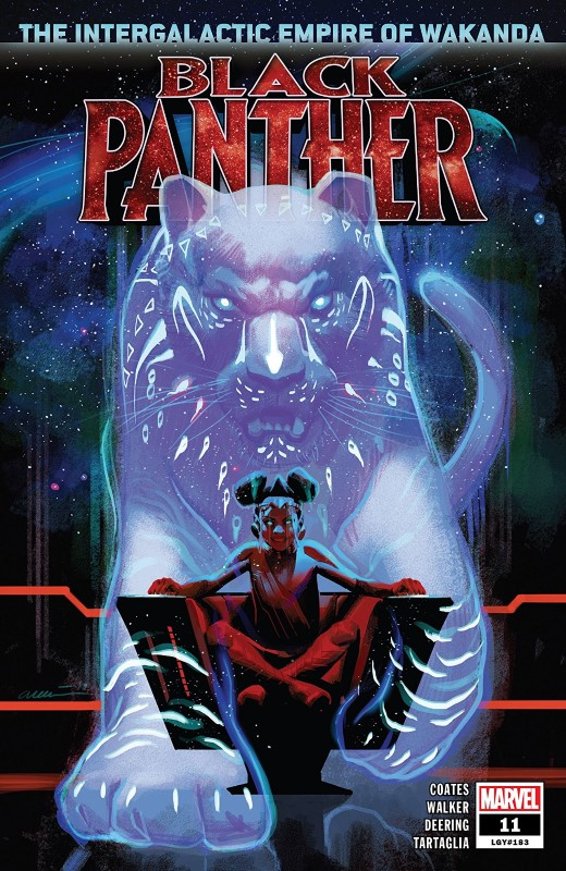 Black Panther #11 cover by Daniel Acuña