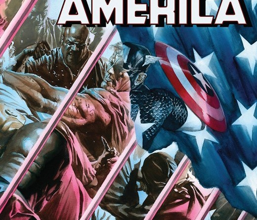 Captain America #9 cover by Alex Ross