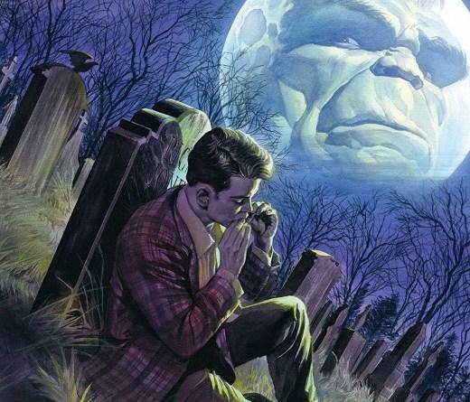 Immortal Hulk #16 cover by Alex Ross