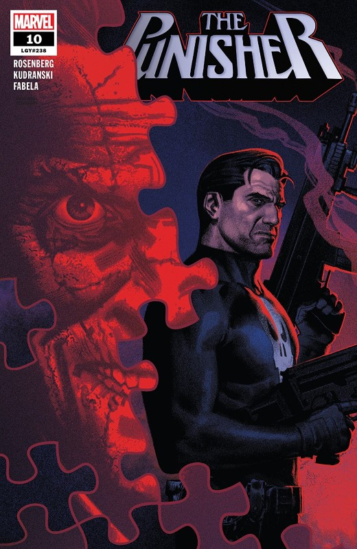 The Punisher #10 cover by Greg Smallwood