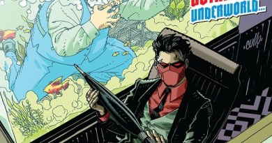 Red Hood: Outlaw #33 cover by Cully Hammer