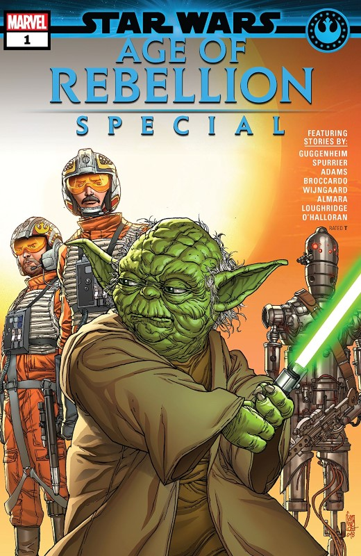 Star Wars: Age of Rebellion Special #1 cover by Giuseppe Camuncoli and Guru-eFX