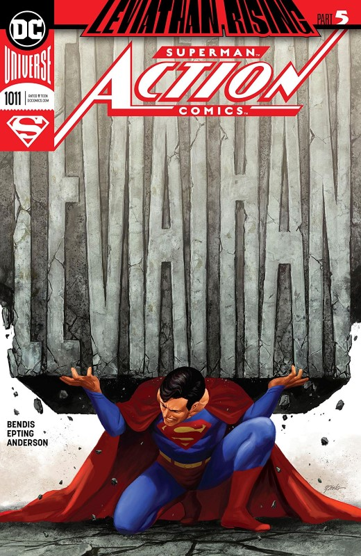 Action Comics #1011 cover by Steve Epting