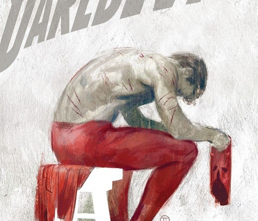 Daredevil #5 cover by Julian Totino Tedesco