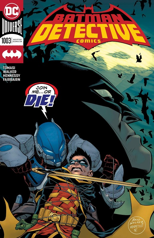 Detective Comics #1003 cover by Brad Walker, Andrew Hennessy, and Nathan Fairbairn