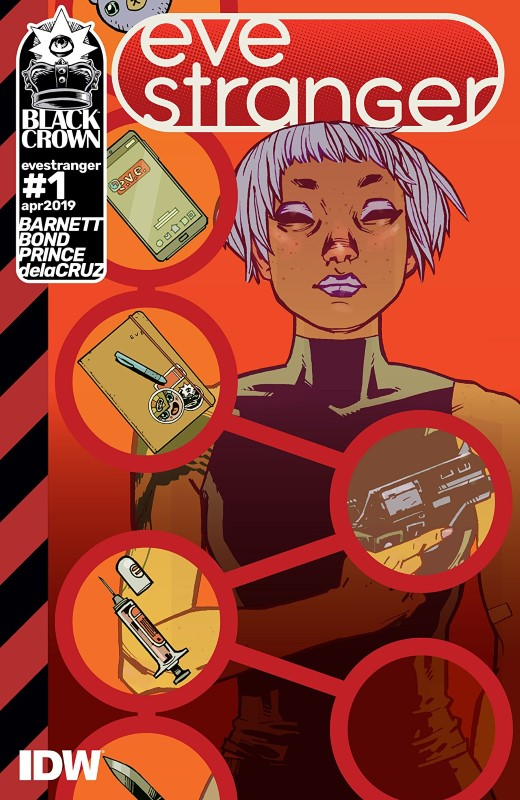 Eve Stranger #1 cover by Philip Bond