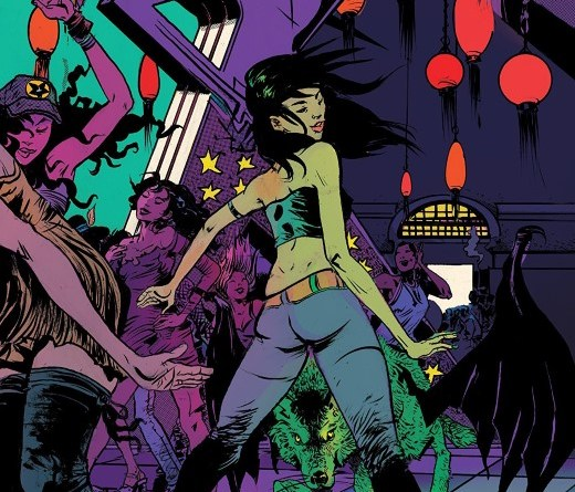 Faithless #2 cover by Paul Pope and Daniel Semanas