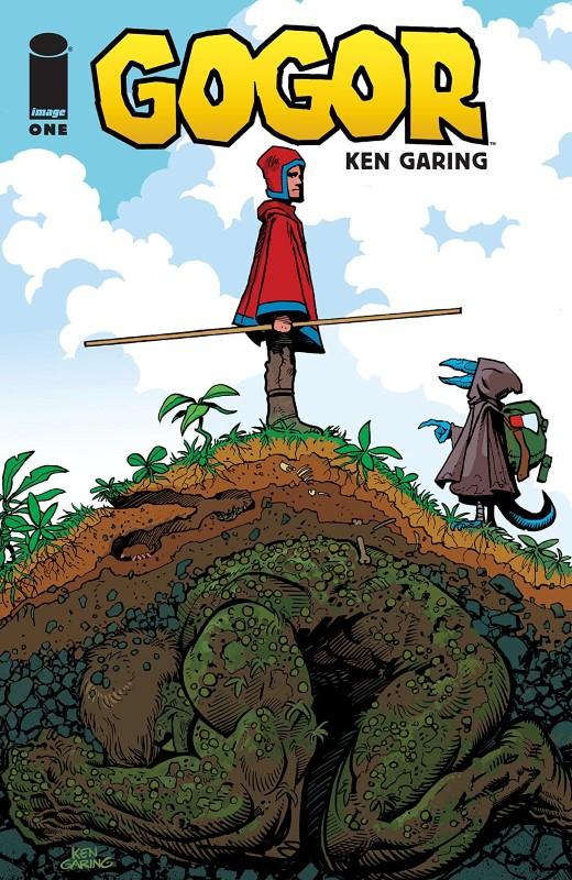 Gogor #1 cover by Ken Garing