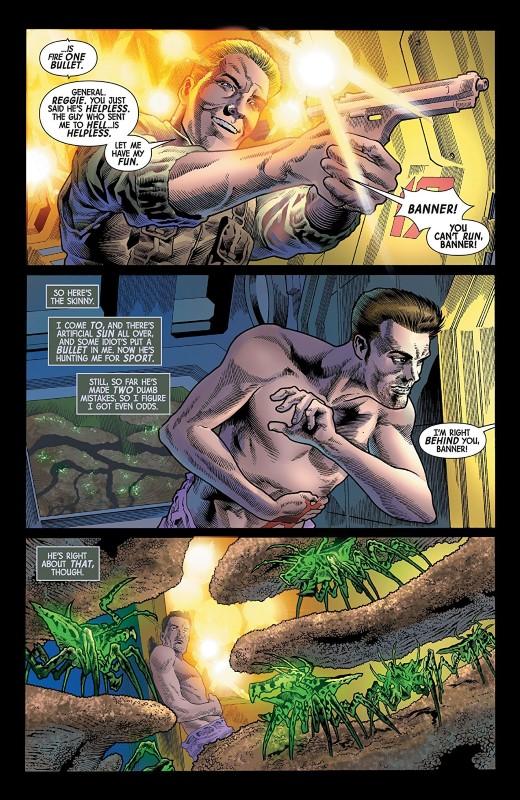 Immortal Hulk #17 art by Joe Bennett, Ruy Jose, Paul Mounts, and letterer VC's Cory Petit