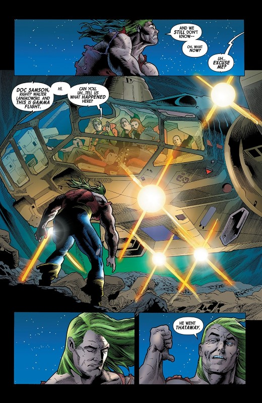 Immortal Hulk #18 art by Joe Bennett, Ruy Jose, Paul Mounts, and letterer VC's Cory Petit