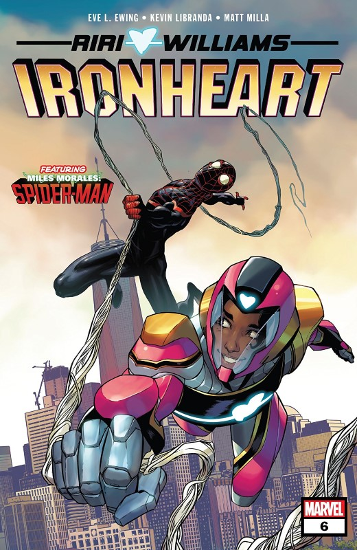 Ironheart #6 cover by Stefano Caselli and Matt Milla